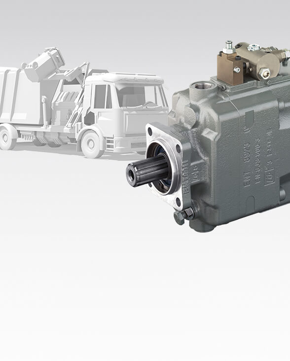 PTO pump with the widest range of controllers