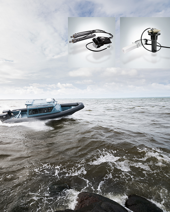 Tailor-made systems for marine applications